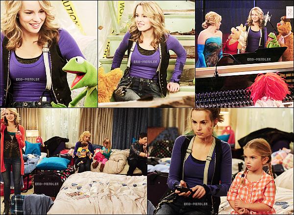 "5 Avril 2013 | Bridgit dans THE MUPPETS TAKE 'GOOD LUCK CHARLIE ""."