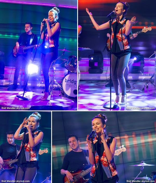 21 Juin 2013   Bridgit était sur le plateau de DayBreak à Londres pour sa promo'