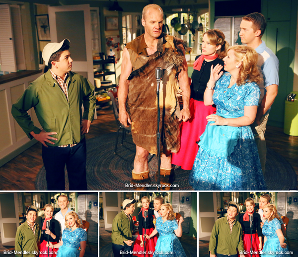 Juin 2013 | Stills de l'épisode 5 de la saison 4 de Bonne Chance Charlie + Fin de la série