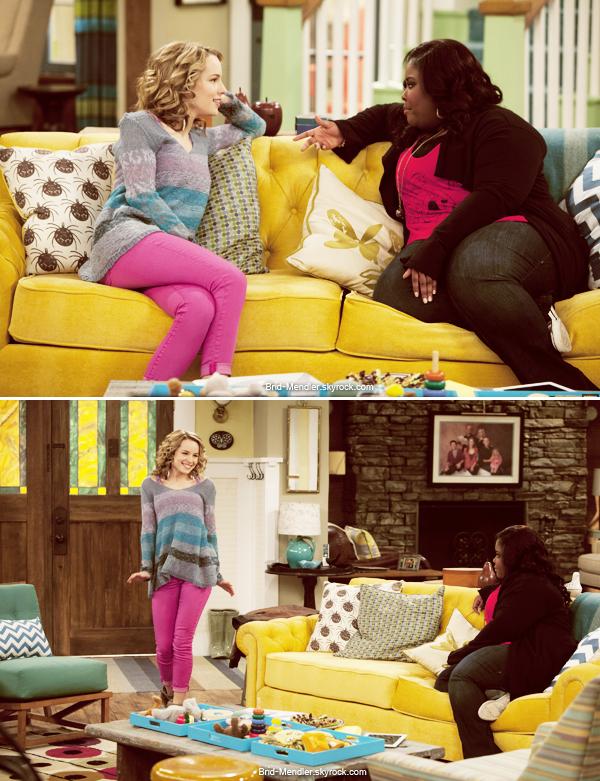 Mai 2013   Stills de l'épisode 2 de la saison 4 de Bonne Chance Charlie  Doppel Date