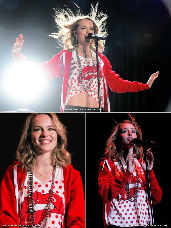 14 Août 2013 | Brid' s'est produit au Crazy Good Summer Concert au HP à Los Angeles