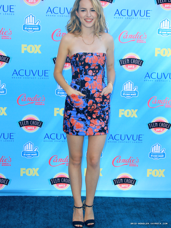 11 Août 2013 | Bridgit a assisté aux Teen Choice Awards 2013 à Universal City en Californie
