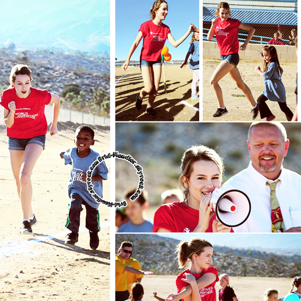 16 Octobre 2013 | Brid' était au World Marathon Challenge pour Save The Children, en Cali.
