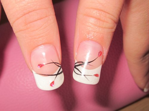 pose des faux ongles en gel 25 dessins d cor gratuits h n nail art artiste ongulaire. Black Bedroom Furniture Sets. Home Design Ideas