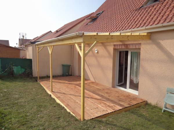 pergolas 6m x 3m avec terrasse 6m x3m blog de bois jerome. Black Bedroom Furniture Sets. Home Design Ideas