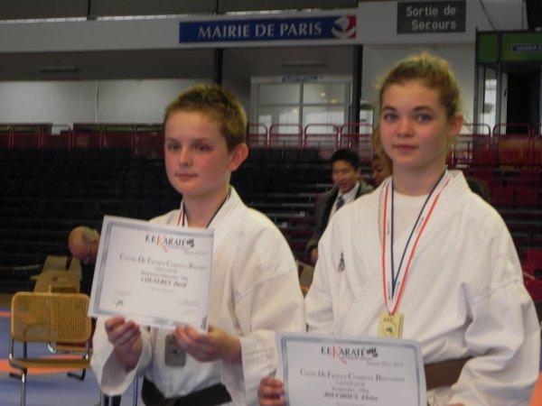 Les PODIUMS des championnats de France 2013