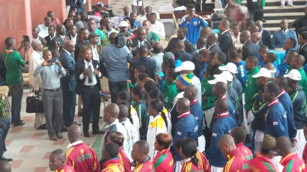 Championnat d'Afrique zone4 à kinshasa
