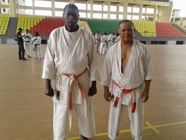 KARATE stage à Brazzaville