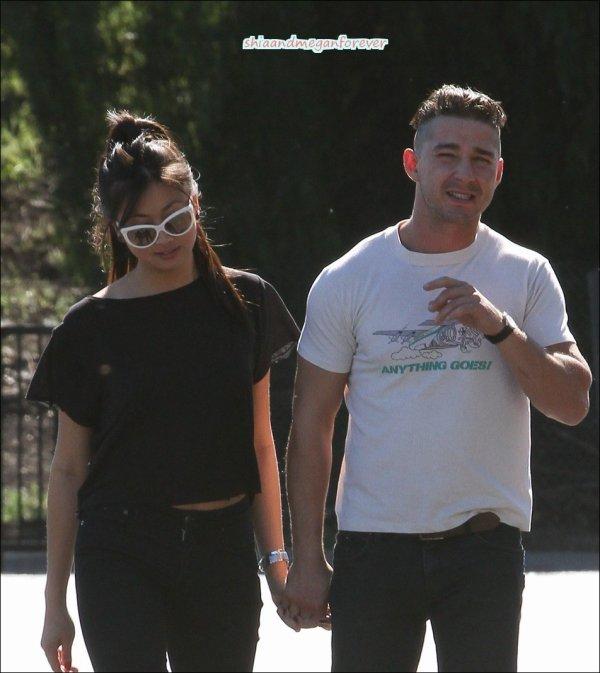 Shia labeouf et sa nouvelle petite amie le 12 f vrier 2011 for Megan fox petite
