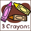 3-Crayons