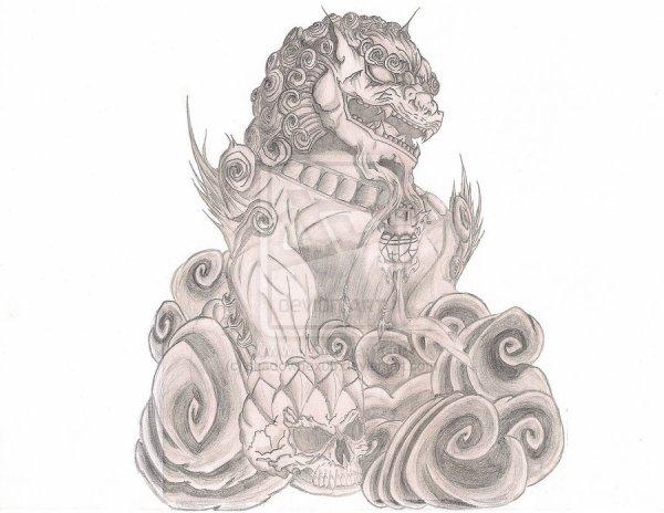 Fu dog tattoo meaning olialchimist s blog