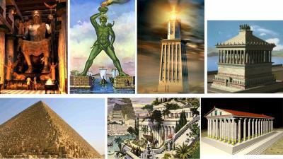 7 merveilles du monde antique