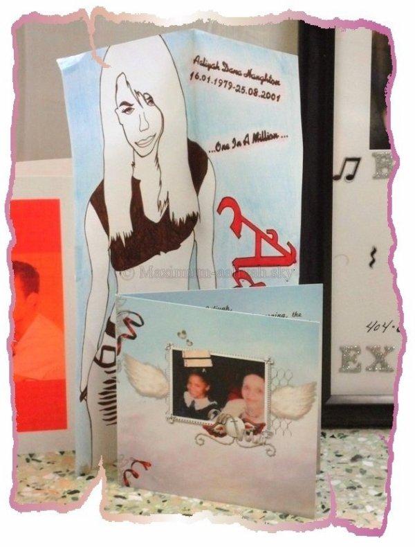 Nous avons apporté nos présents pour BabyGirl et sa famille....