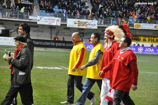 USAP VS Biarritz Olympique.