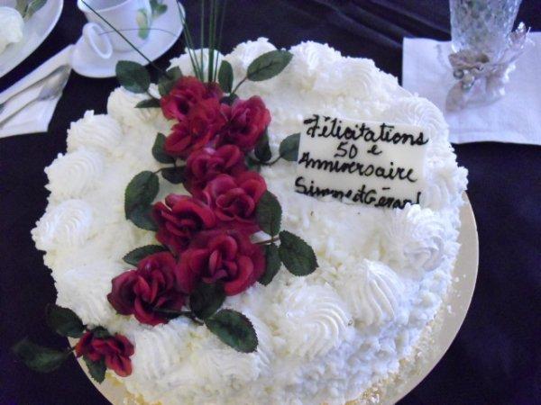 gateau d anniversaire de mariage de mes grand parents - Blogue de ...