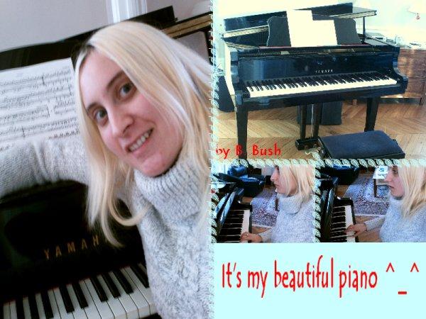 Mon piano ^^