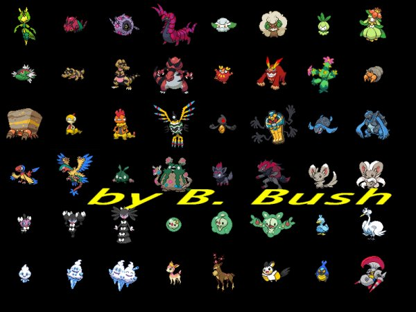 Pokemon : La 5e génération !!! (Officiel) ! (Pokemon Noir et pokemon Blanc) !