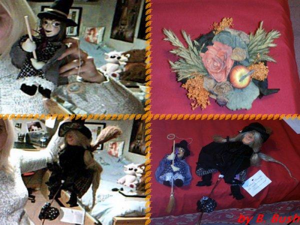 Poupées sorciere (mural) (et Living dead dolls)