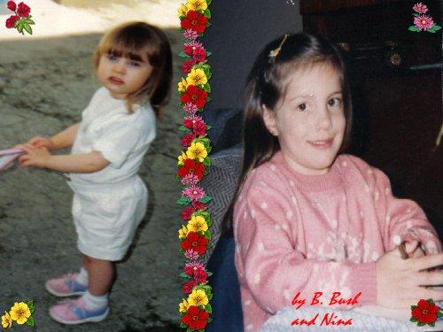 Photos de moi quand j'été petite lol