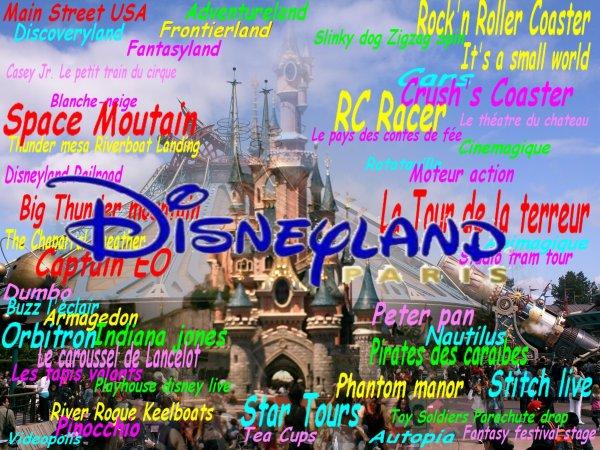 La prunelle de mes yeux : Disneyland paris