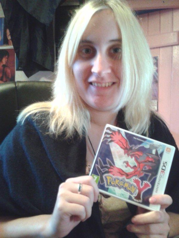 Pokemon Version Y (Achat jour de la sortie mondial 12 Octobre 2013)