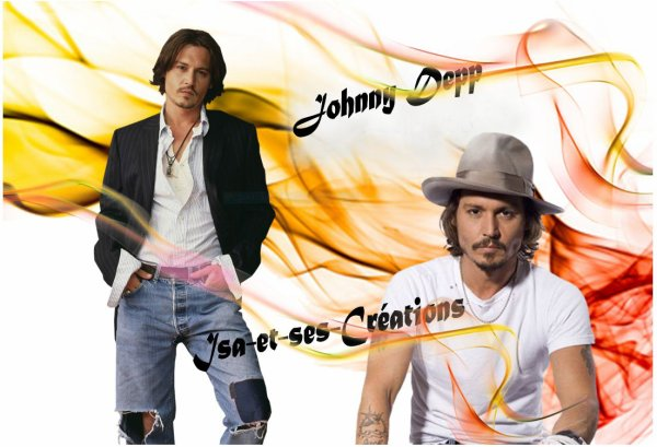 Mes cr�ations : JOHNNY DEPP