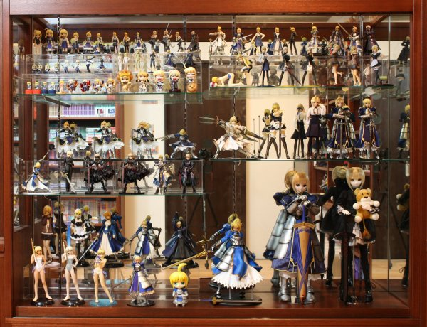 figurine manga de collection
