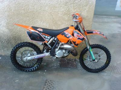 moto cross ktm 125cc al si lach d com. Black Bedroom Furniture Sets. Home Design Ideas
