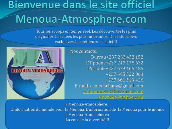 Menoua-Atmosphere.com, le site au c�ur de vos �v�nements