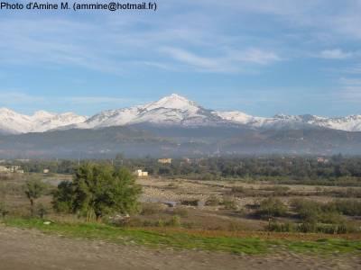 Djurdjura les belles montagnes de kabylie sous la neige for Haute kabylie