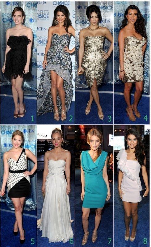 La mode au People's Choice Award !