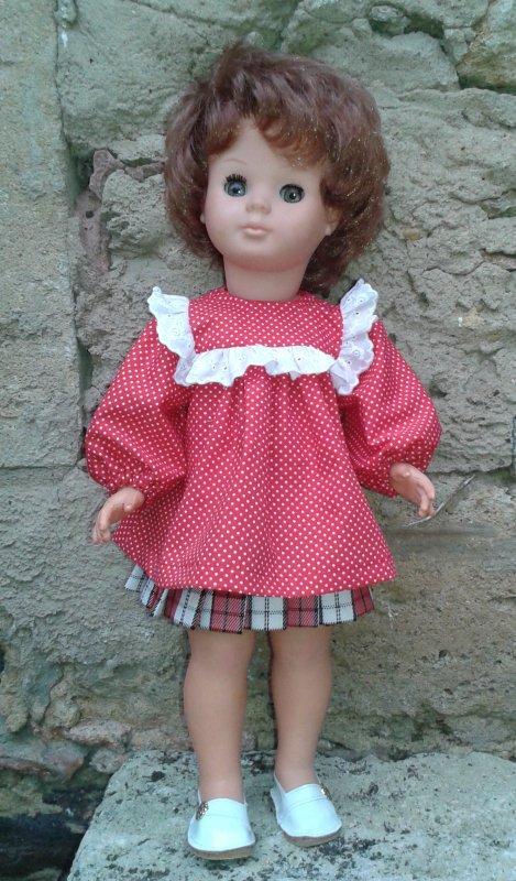 La blouse de septembre 1982 pour Marie-Fran�oise