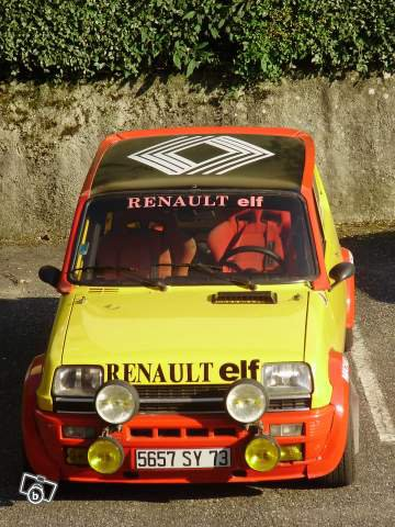 a vendre r5 alpine turbo calberson photo 1 renault 5. Black Bedroom Furniture Sets. Home Design Ideas
