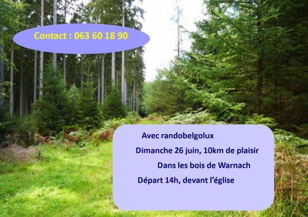 Warnach, 26 juin