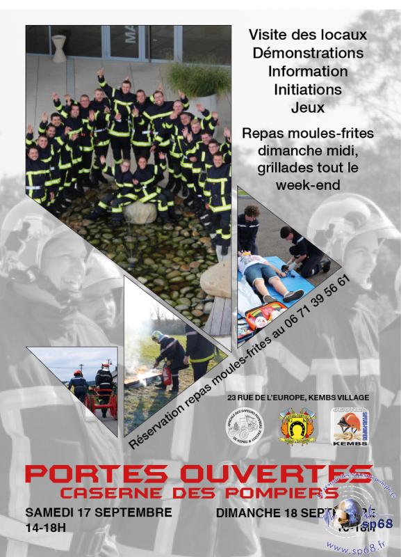 JOURNEE PORTES-OUVERTES DIMANCHE 18 SEPTEMBRE SDIS 68