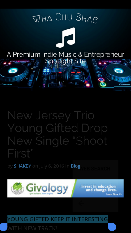 Young Gifted brand new hit single Shoot First