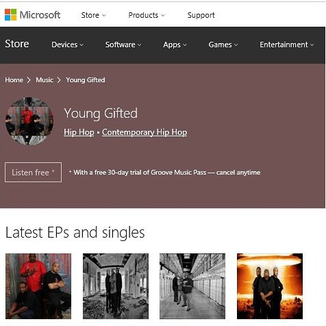 """Download Young Gifted new hit single """"Shoot First"""" available on Microsoft"""