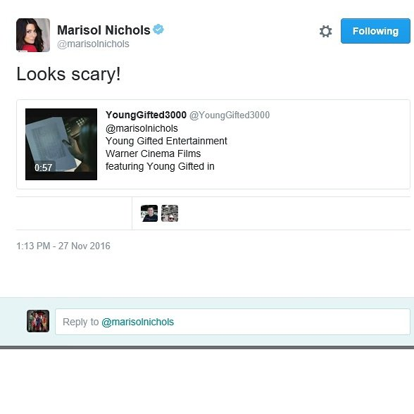 Marisol Nichols.... The Talented Actress  That Starred In Movies Such As.. Big Mamma's House 2, Scream 2  & The Hit TV Show 24 Season 6 Young Gifted Is Thankful 4  The Support... https://vimeo.com/183739526