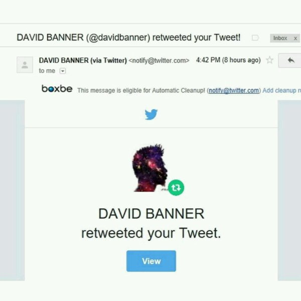 Setting Off 2017 The Right Way!! David Banner...The Man, The Myth The Legend ...Real Recognizing Real Your Support Means The World!! Salute...#YoungGifted #DavidBanner