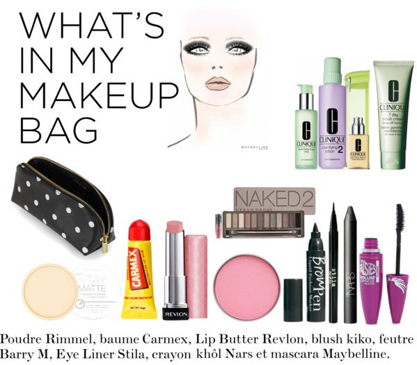 What's in my makeup bag? ENFIN! ♥