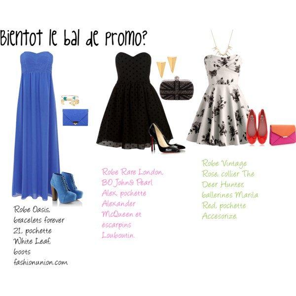 Bientôt le bal de promo? Trouve LA robe idéale!