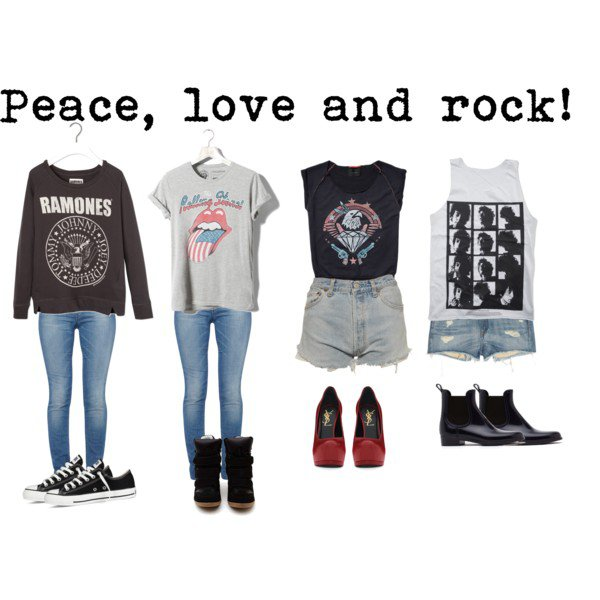 State of love and trust... (Rock Outfits) <333