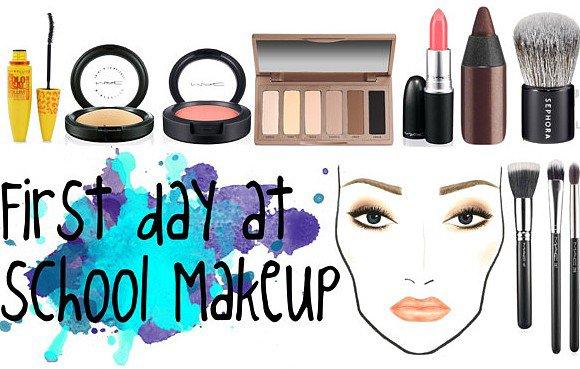 BACK TO SCHOOL SERIE #2 : le makeup du premier jour!