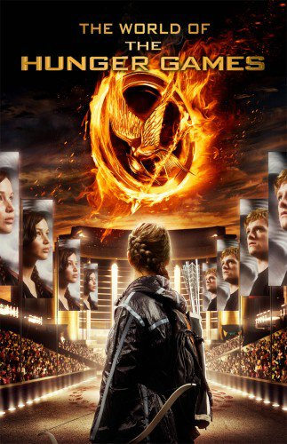 Couverture du guide officiel (version US) du film Hunger Games
