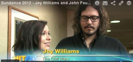 The Civil Wars - ils interprêtent 2 titres de la BO