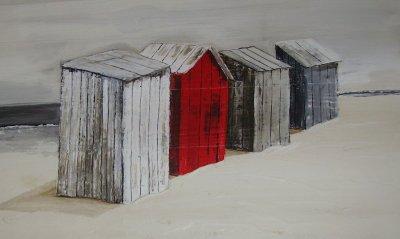 Les cabines de plage mer et nature d 39 apr s portnic for Plan cabine de plage en bois