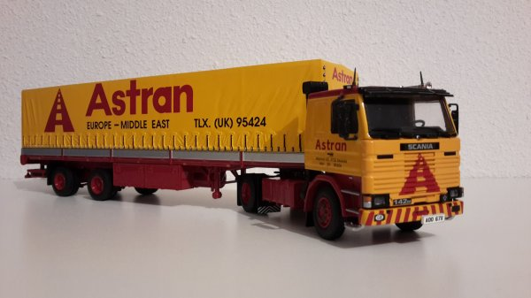 """SCANIA 142  V8  """" ASTRAN """" TEKNO 1.50"""