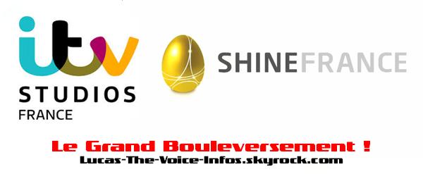 #BOULEVERSEMENT: Shine France perd la production de The Voice d�s la fin 2016 !
