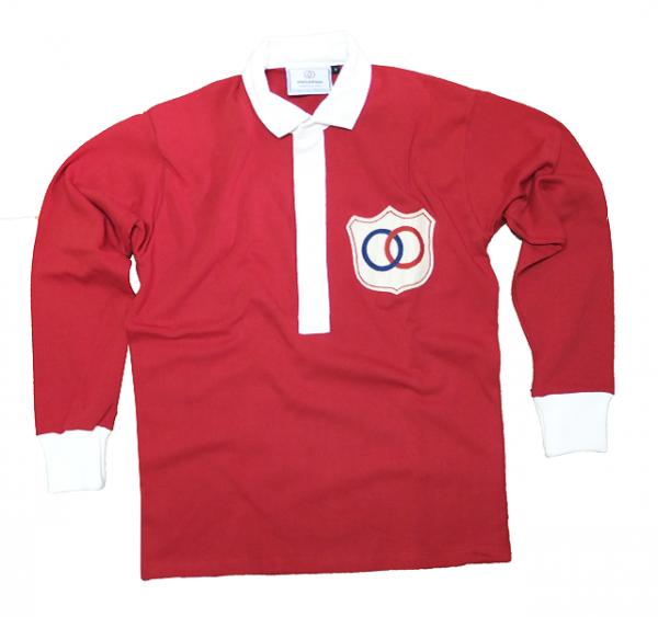 Le maillot rouge de l'�quipe de France de football