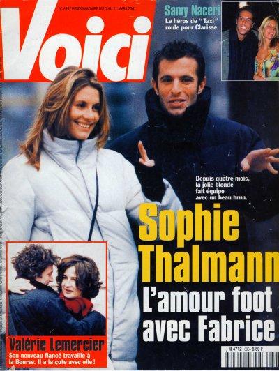 Fabrice sopoglian en couverture de voici avec miss france - Poster avec plusieurs photos ...